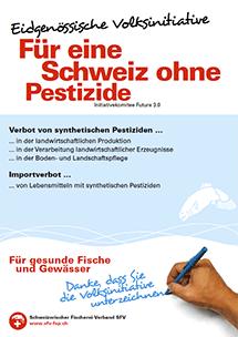"""Volksinitiativen """"Für eine Schweiz ohne Pestizide"""""""